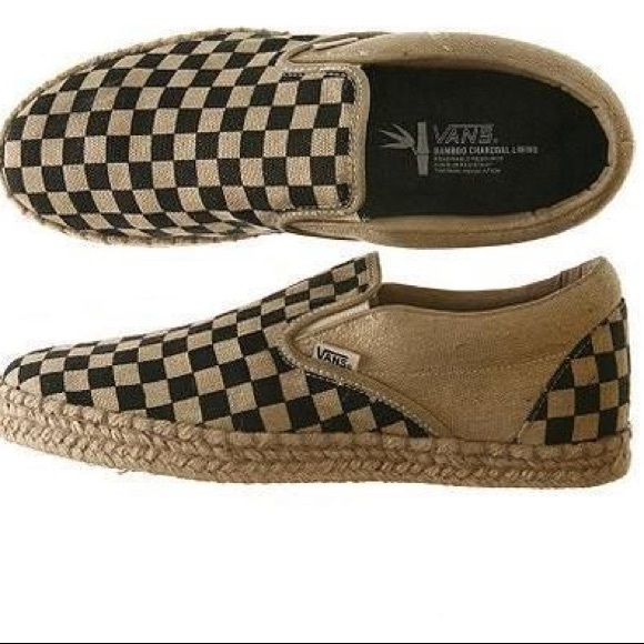 Vans Limited addition bamboo checkerboard